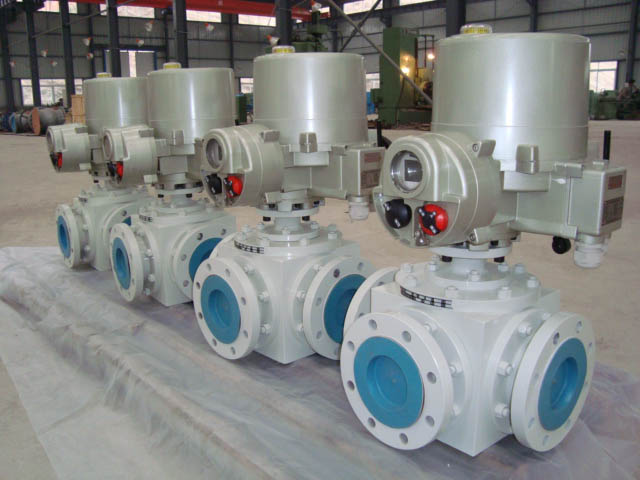 API 6D Three way top entry ball valve