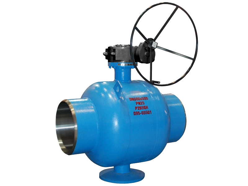P265GH District heating fully welded ball valves
