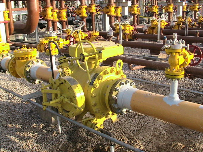 Pigging ball valves in Iran MIS project