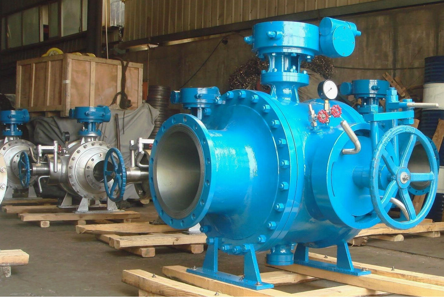 pigging ball valve for despatch