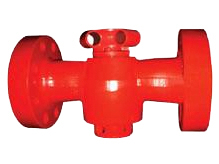 Flanged end API 6A plug valves