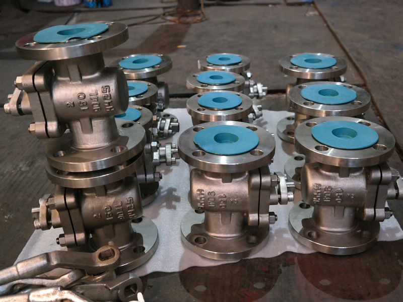 904L Duplex sleeve type soft seal plug valves
