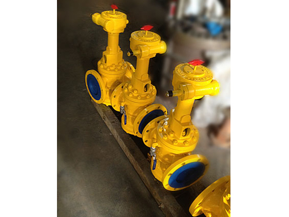 Orbit plug valves