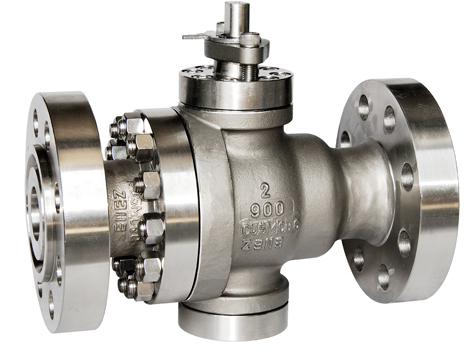 Inconel 625 trunnion mounted ball valves