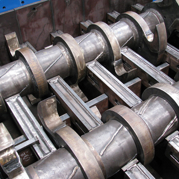 blades of double shaft primary shredder