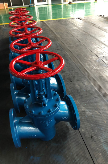 rubber lined globe valve