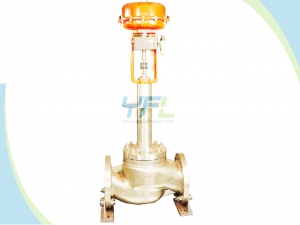 Cryogenic Single seat globe control valve
