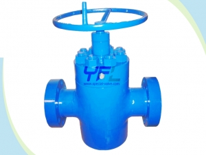 FC type slab gate valves