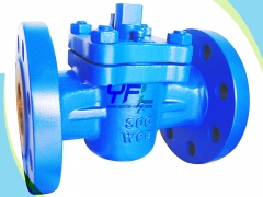 Sleeved soft seal plug valve