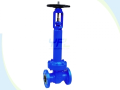 Bellows seal gate valve