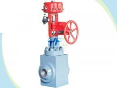 High pressure difference control valve