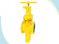 Cityl gas slab gate valves