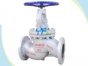 DIN Cast steel globe valves