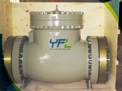 API 6D Full opening Swing Check Valve