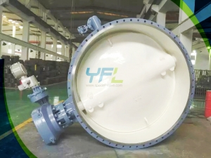 Bidirectional city gas butterfly valves