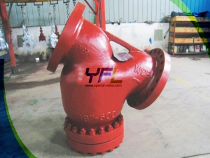 API  stainless steel CF8M Y type strainer