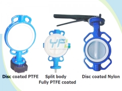 wafer center line doubel shaft butterfly valves