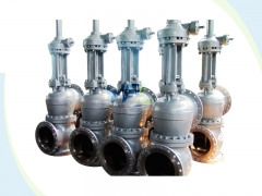 Aluminum oxide Thee way slurry valve
