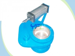 Ceramic rotating feeding valve