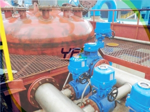 Ceramic ball valve for nickel refinery