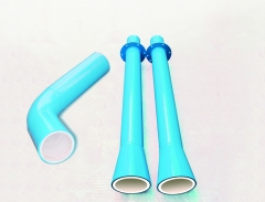 Ceramic sleeve lined pipe by YFL