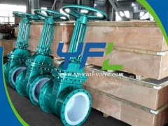 FEP Lined Gate Valve by YFL