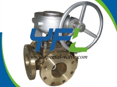 Effective C95800 Four Way Plug Valve