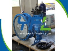 Hydraulic Emergency Shut Down Butterfly Valve by YFL