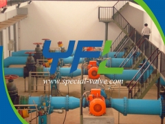 Turbine Inlet Butterfly Valve For HPP by YFL