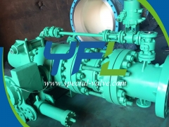 Hydraulic Sphere Valve With Bypass System by YFL