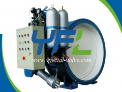 Accumulator Type Hydraulic Slow Closing Butterfly Valve by YFL