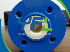 Ceramic Ball Valves for auto exhaust catalyst by YFL