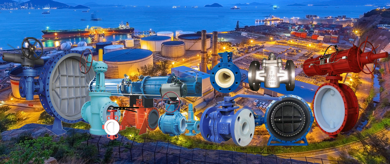 NBR/EPDM/FEP/PTFE/PFA/Ceramic lined valves for corrosive service in Chemical, Oil & Gas, Mining, Wastewater treatment, Seawater desalinization etc.